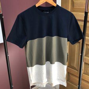 Men's color block short sleeve t-shirt